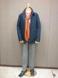 モトキ オリジナル ハーフコート